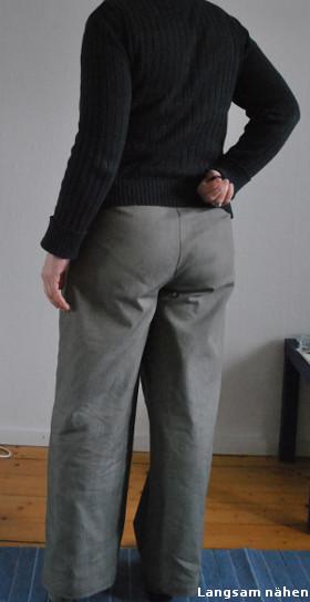 Weite Hose nach Zwischenmass-Schnitt