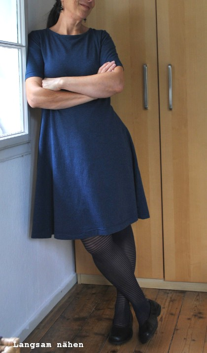 Jerseykleid Modell 18 aus Ottobre-Woman 5/2017